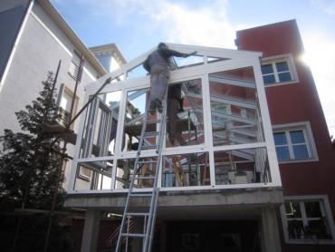 Zastakljivanje terase, ALU prozori